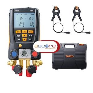 Analizador Electr 243 Nico De 4 V 225 Lvulas Y 4 Conexiones Testo